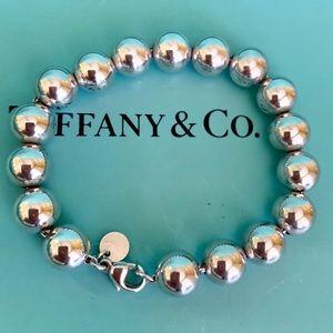 Tiffany & Co. Sterling Silver 10mm Ball Bracelet
